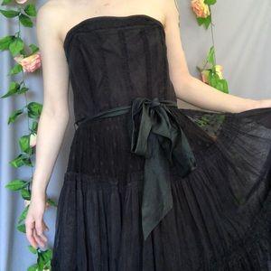 Anthropology mesh dress